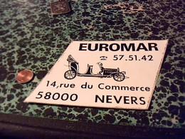 Autocollant   Ancien EUROMAR A Nevers Transport? - Autocollants