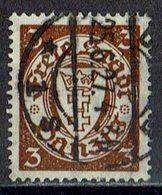 Danzig 1927 // Mi. 216 X O - Dantzig