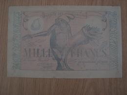 CHEQUE PUBLICITAIRE 19 SALON DES HUMORISTES 1926 - Reclame