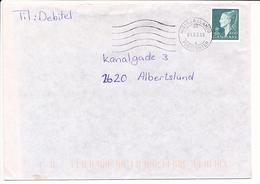 Mi 1158 Solo Commercial Cover - 1 March 1999 Midtsjællands Postcenter - Cartas