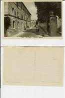 Pisa: Via Roma - Caserma Umberto I. Cartolina Fp 1938 (animata, Militari In Uniforme) - Pisa