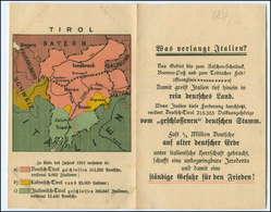 S2119/ Tirol Volksabstimmung  Klapp AK  - Unclassified