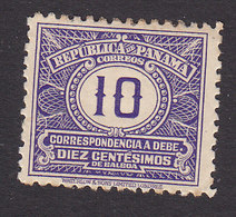 Panama, Scott #J8, Mint Hinged, Postage Due, Issued 1930 - Panama