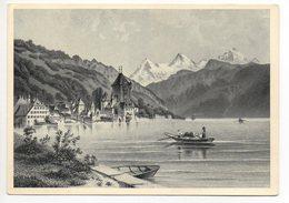 OBERHOFEN Die Schweiz Vor 100 Jahren Druck Fr. Weibel Thun - BE Berne