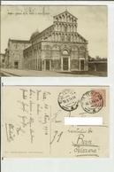 Pisa: Chiesa Di S. Paolo A Ripa D' Arno. Cart. Fp Vg 1914 (verso Estero) - Pisa