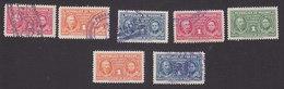Panama, Scott #RA6, RA8-RA9, RA15-RA18, Used, Pierre And Marie Curie Issued 1941-45 - Panama