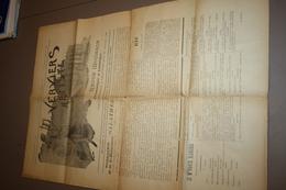 Revue Musicale Verviers Artiste 1896 - Newspapers