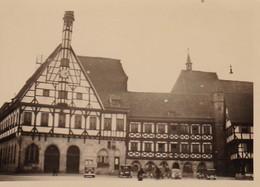 Foto Fachwerkhäuser - Deutschland  - Ca. 1940/50 - 8,5*5,5cm (41391) - Lieux