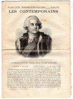 Hebdomadaire Les Contemporains N°909-13-03-1910-Stanislas-auguste,dernier Roi De Pologne ( 1732-1798 ) - Newspapers