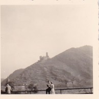 Foto Burg Gutenfels Am Rhein - 1949 - 5,5*5,5cm (41392) - Orte
