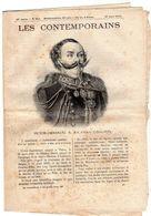 Hebdomadaire Les Contemporains N°911-27-03-1910-Victor-Emmanuel II,roi D'Italie ( 1820-1878 ) - Newspapers