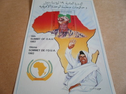 Miniature Sheets Libya 19th Summit Of OAU - Libya