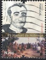 Portugal 2017 Oblitéré Used Prêtre Jésuite Manuel Da Nóbrega Padre SU - 1910-... République