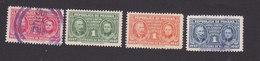 Panama, Scott #RA24-RA27, Used/Mint Hinged, Pierre And Marie Curie Issued 1947 - Panama