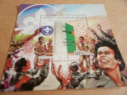 Miniature Sheets Libya Boy Scouts - Libya