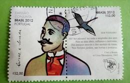 Brasil- 2012, Lubrapex,emissão Conjunta BRASIL/Portugal - Oblitérés