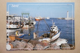 SETE Bateaux De Pêche 34 HERAULT - Sete (Cette)