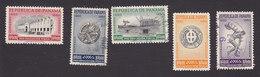 Panama, Scott #RA31-RA35, Used, Olympics. Issued 1951-52 - Panama