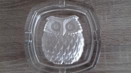 CENDRIER HIBOU 13.5X13.5 CM - Glass