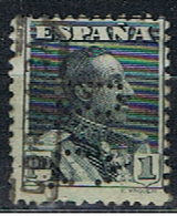 (E 771) ESPAÑA // YVERT 284 // PERFORE / PERFIN // 1922-30 - 1889-1931 Royaume: Alphonse XIII