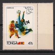 Tonga - 1982 - N°Yv. 504 - Football World Cup - Surcharge / Overprint SPECIMEN - Neuf Luxe ** / MNH - Tonga (1970-...)