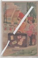 LOT 1068 CARTE A SYSTEME BONJOUR DE LA PANNE 1967 - De Panne