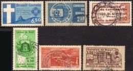 Ref. BR-U1960-61 BRAZIL 1960 ., AND 1961 - USED 6V - Brazil