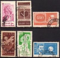 Ref. BR-U1961-62 BRAZIL 1961 ., AND 1962 - USED 6V - Brazil