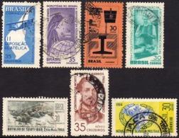 Ref. BR-U1965-66 BRAZIL 1965 ., AND 1966 - USED 7V - Brazil