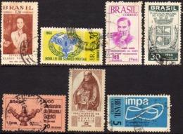 Ref. BR-U1966-67 BRAZIL 1966 ., AND 1967 - USED 7V - Brazil