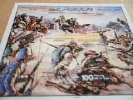 Miniature Sheets Libya Martydom Of Omar Muktar 1980 - Libya