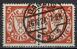 Danzig 1924/1938 // Mi. 193 X O Paar - Dantzig