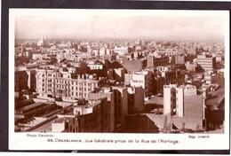 CPSM. Maroc. Casablanca. Vue Générale. Photo De Flandrin. Etat Moyen. - Casablanca