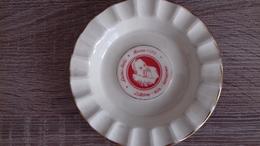 CENDRIER LUCAS BOLS 12 CM - Porcelaine
