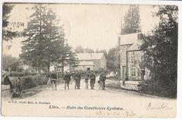 Libin - Halte Des Carabiniers Cyclistes - DVD 10.440 - Dos Simple écrite Vers Bruxelles Puis Londres 1906 à M Pearse - Libin