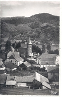 Cpsm Format Cpa - SERVANCE . PLACE DE L'EGLISE ET BOURGAGOTTE , LE MONT CORNU . AFFR LE 26-8-1955 . 2 SCANES - Autres Communes