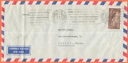SPAGNA - ESPAÑA - Spain - Espagne - 1966 - 5 Correo Aereo + Flamme - Correo Aereo - Viaggiata Da Las Palmas Per Zurich, - 1931-Oggi: 2. Rep. - ... Juan Carlos I