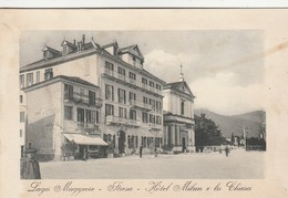 LAGO MAGGIORE - STRESA - HOTEL MILAN E LA CHIESA - Verbania
