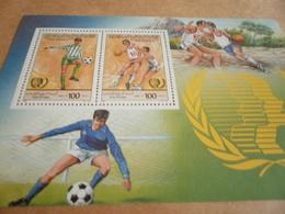 Miniature Sheets Libya 1985 Youth International - Libya