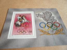 Miniature Sheets Libya 1984 Olympics - Libya