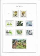 2016 MNH Lituania Year Collection Postfris** - Litauen