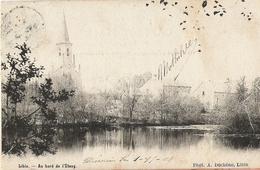 Libin - Au Bord De L'étang - Circulé 1904 Belle Oblitération 2 étoiles  - Dos Simple - Phot. A. Duchêne, Libin - Libin