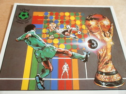 Miniature Sheets Libya Football World Cup Spain 82 - Libya