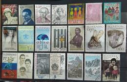 121 Used Postage Stamps Slovakia - Slovakia