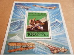 Miniature Sheets Libya Concorde Wright Brothers Flight 1978 - Libya