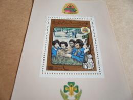 Miniature Sheets Libya Girl Guides - Libya