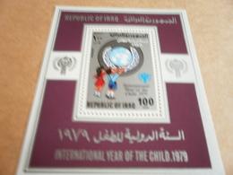 Miniature Sheets Iraq 1979 Year Of The Child - Iraq