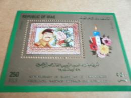 Miniature Sheets Iraq Saddam Birthday - Iraq