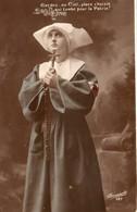 Militaria Propagande Bonne-soeur Religion Patrie - Guerre 1914-18