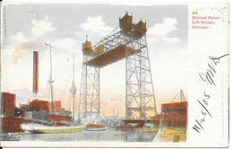 CPA--1905-USA-ILLINOIS-CHICAGO-HALSTED Street-Pont Levant/LIFT BRIDGE-TBE-RARE - Chicago